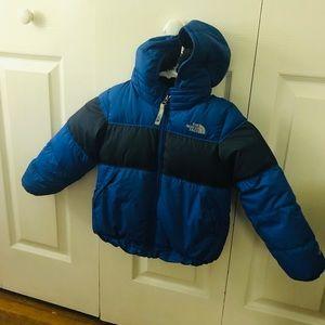 North Face coat - boys 4t